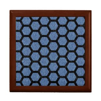 HEXAGON2 BLACK MARBLE & BLUE DENIM (R) GIFT BOX