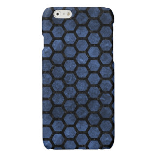 HEXAGON2 BLACK MARBLE & BLUE STONE (R)