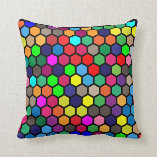 Hexagon Accent Pillow