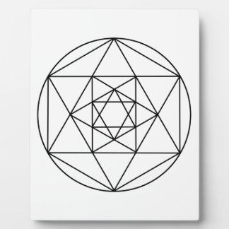 Hexagon Gem1 Plaque