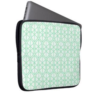 Hexagon Geometric Pattern Hexagonal Pastel Hexagon Laptop Sleeve