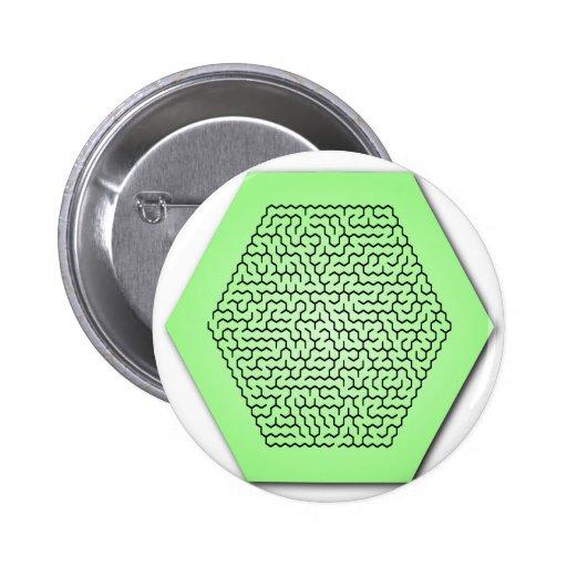 Hexagon Maze Buttons