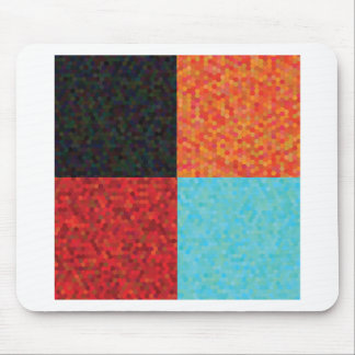 hexagon pattern mouse pad