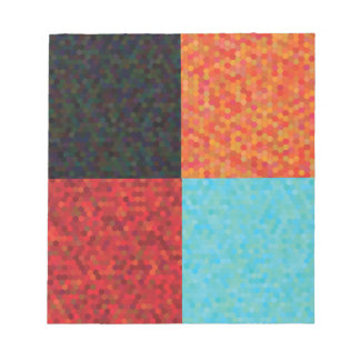 hexagon pattern notepad