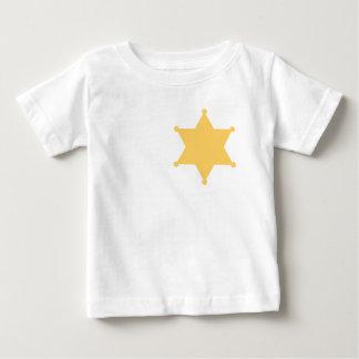 Hexagon sheriff star hexagon sheriff's badge baby T-Shirt