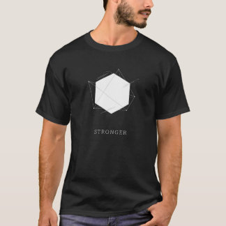 Hexagon - Stronger T-shirt