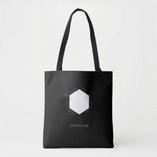 Hexagon - Stronger Tote Bags