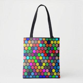 Hexagon Tote Bag