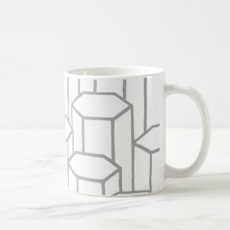 Hexagonal Columns Coffee Mug