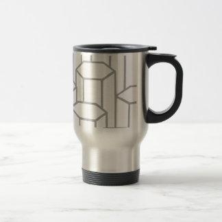 Hexagonal Columns Travel Mug