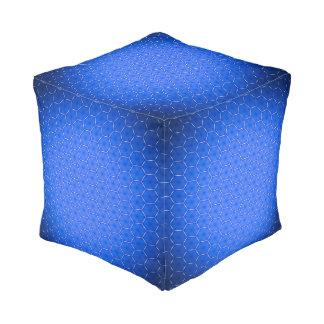 Hexagons decor pouf