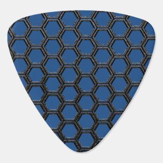 Hexagons Guitar Pick