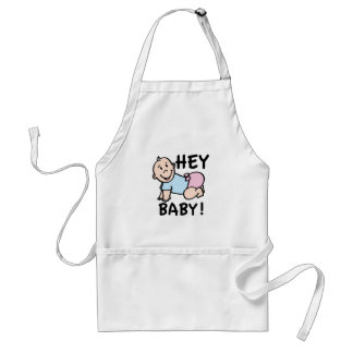 Hey Baby Aprons