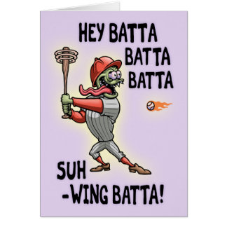 Hey Batta Baxter Card