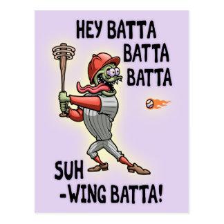 Hey Batta Baxter Postcard