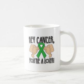 Hey Bile Duct Cancer Youre a Loser Basic White Mug