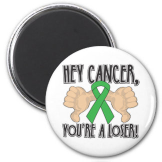 Hey Bile Duct Cancer Youre a Loser 6 Cm Round Magnet