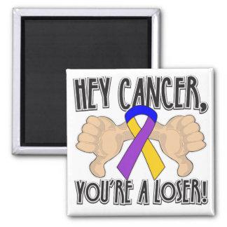 Hey Bladder Cancer You're a Loser Refrigerator Magnets