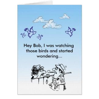 Hey Bob! Card