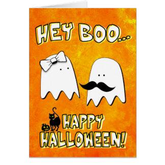 Hey Boo Halloween Card
