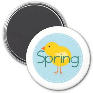 Hey, Chickie! Spring Has Sprung! Magnet
