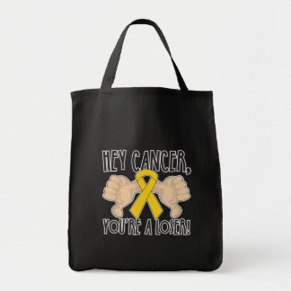 Hey Childhood Cancer You're a Loser Bags