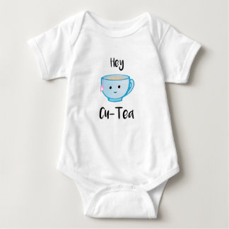 Hey Cu-Tea Body Suit Baby Bodysuit