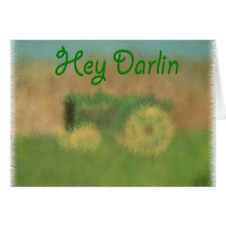 Hey Darlin Card