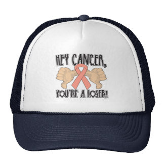 Hey Endometrial Cancer You're a Loser Trucker Hats