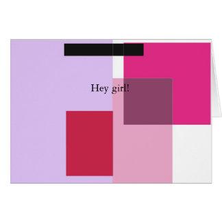 Hey Girl! Card