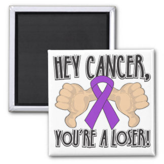 Hey GIST Cancer You're a Loser Fridge Magnets