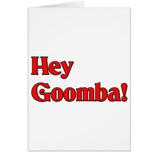 Hey Goomba! Card