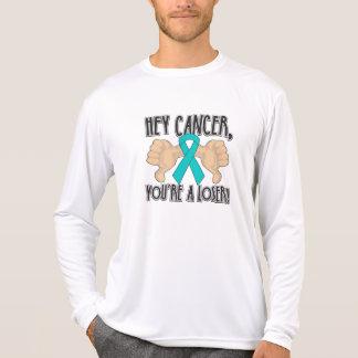 Hey Gynecologic Cancer You're a Loser Tshirts