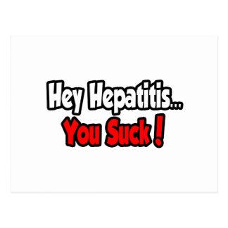 Hey Hepatitis...You Suck! Postcards