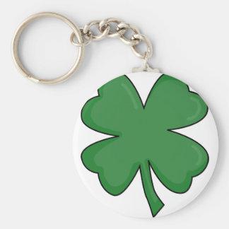 Hey Irish Sham-rock! Basic Round Button Key Ring