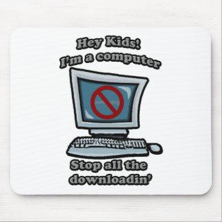 Hey kids! Im a computer mousepad