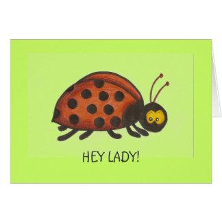 Hey Lady, Lady Bug Cards