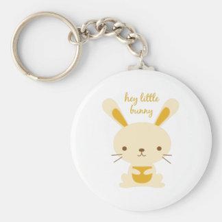 Hey Little Bunny Keychains