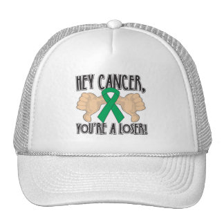 Hey Liver Cancer You're a Loser Mesh Hat