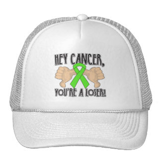 Hey Lymphoma Cancer You're a Loser Mesh Hat