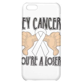 Hey Mesothelioma Cancer You're a Loser iPhone 5C Cases