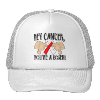 Hey Oral Cancer You're a Loser Cap
