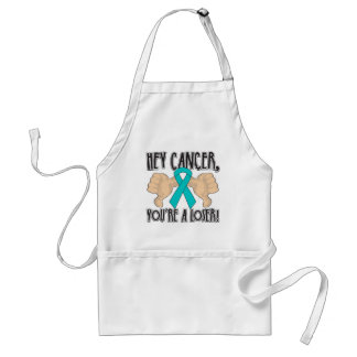 Hey Ovarian Cancer You're a Loser Apron