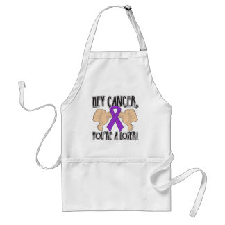 Hey Pancreatic Cancer You're a Loser Adult Apron