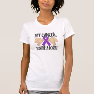 Hey Pancreatic Cancer You're a Loser Tee Shirt