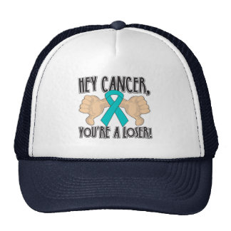 Hey Peritoneal Cancer You're a Loser Mesh Hats