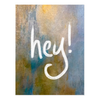 Hey! Postcard