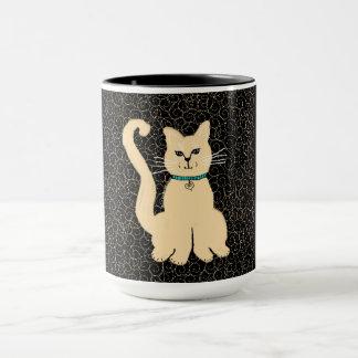 Hey Pretty Kitty Coffee Mug by Julie Everhart