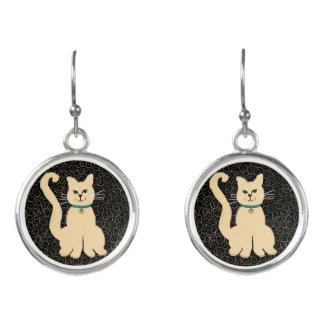 Hey Pretty Kitty Fashion Earrings by Julie