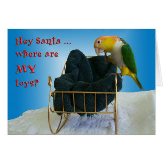 Hey Santa Card